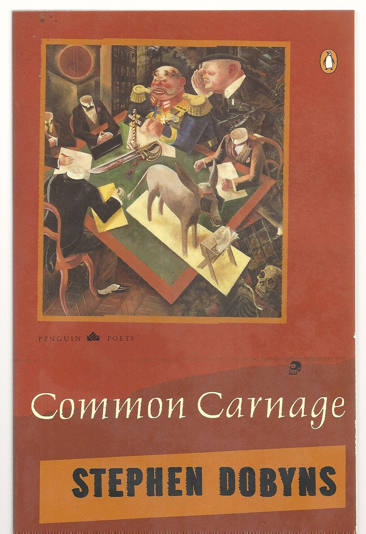 Common Carnage (Poets, Penguin), Dobyns, Stephen