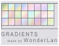 Gradient Set by foxxie-chan @ deviantart