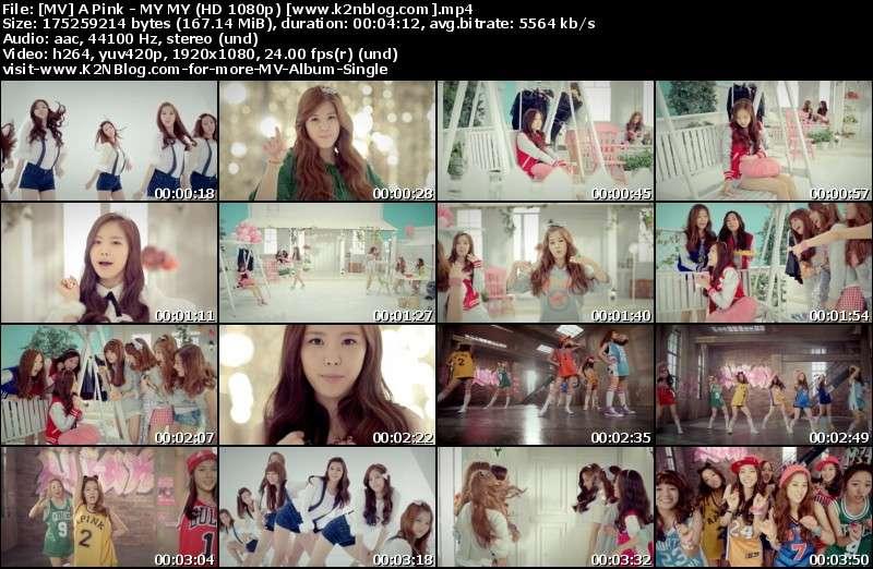 A Pink - MY MY MV